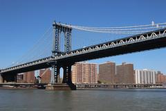 Manhattan Bridge (dbind747438) Tags: new york city manhattan ny nyc usa us america united states buildings architecture skyscrapers skyline hudson river bridge