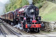 'USA CLASS S160' (tonyfletcher) Tags: railwayinwartime2019 pickering1940s railwayinwartime nymr northyorkmoorsrailway tonyfletcher wwwtonyfletcherphotographycouk wwwwhitbygothscenecouk 1940sevent portraits 40s homefront ww2 usas160 steamlocomotive