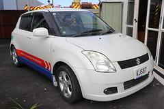 KJS  87 (ambodavenz) Tags: suzuki swift car temuka southcanterbury newzealand temukavolunteerfirebrigade