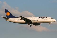 D-ABEH (PlanePixNase) Tags: eddl dus dusseldorf düsseldorf airport aircraft planespotting lohhausen lufthansa boeing 737 737300 b733 733