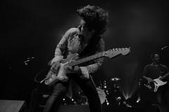 Jason Barwick : Lead guitar, vocals  - The Brew (Samarrakaton) Tags: samarrakaton 2019 nikon d750 2470 kafeantzokia bilbao liveshow directo concierto musica music rockband rock guitar guitarra jasonbarwick thebrew byn bw blancoynegro blackandwhite monocromo