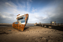The S.S. Boop, Instow (Aliy) Tags: boop ssboop instow northdevon devon beach coast jetty pier wreck shipwreck boat oldboat oldpier oldjetty