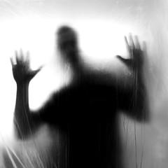 Ghost II (Gruenewiese86) Tags: folie gespenst stock schwarz ghost schwarzweiss