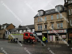 wellmeadow street 10122019  (25) (paisleyphotographs.com) Tags: wellmeadow street paisley fire road closed photos photographs photographer police car engine incident response