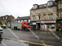 wellmeadow street 10122019  (23) (paisleyphotographs.com) Tags: wellmeadow street paisley fire road closed photos photographs photographer police car engine incident response