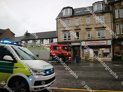 wellmeadow street 10122019  (20) (paisleyphotographs.com) Tags: wellmeadow street paisley fire road closed photos photographs photographer police car engine incident response