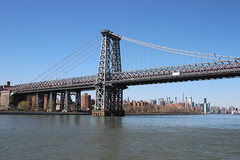 Williamsburg Bridge (dbind747438) Tags: new york city manhattan ny nyc usa us america united states buildings architecture skyscrapers skyline hudson river williamsburg bridge
