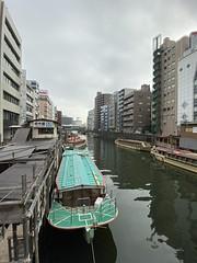 Asakusabashi, Tokyo, Japan (Sharon Hahn Darlin) Tags: boat