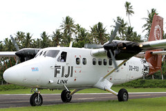Fiji calling (Jaws300) Tags: canon5d commuterplane regionalplane fiji link dhc6300 twin otter dqpsd parking tvu nfnm fijilink twinotter de havilland canada dhc6 dehavilland dehavillandcanada twotter commuter plane turbo propeller turboprop stand gate terminal airport ramp apron green greenery scenic paradise stormy south pacific southpacific island islands regional airplane taxiing grass tree taveuni matei mateiairport vanua levu group vanualevu vanualevugroup stol