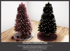 {YD} Colorful Christmas Tree ({Your Dreams}) Tags: yourdreams equal10 exclusiveequal10 gacha christmas christmastree decor