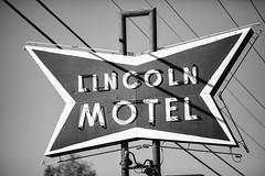 Lincoln Motel (Thomas Hawk) Tags: america chandler lincolnmotel oklahoma route66 usa unitedstates unitedstatesofamerica bw motel neon neonsign fav10 fav25 fav50