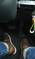Boots (daveandlyn1) Tags: tanboots beeswaxboots footwell pedals jeans soxs skodasuperbfootwell keys pralx1 p8lite2017 huaweip8 smartphone psdigitalcamera cameraphone