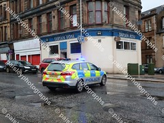 wellmeadow street 10122019  (33) (paisleyphotographs.com) Tags: wellmeadow street paisley fire road closed photos photographs photographer police car engine incident response