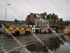 wellmeadow street 10122019  (19) (paisleyphotographs.com) Tags: wellmeadow street paisley fire road closed photos photographs photographer police car engine incident response