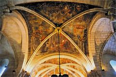 Iglesia dos Remedios. ceiling (atsjebosma) Tags: ceiling cathedral paintings colourful plafond kleurrijk cathedraal atsjebosma iglesia dosremedios schildering fresco monodeno spain spanje