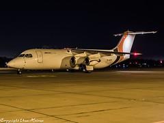 Jota Aviation G-JOTE HAJ at Night (U. Heinze) Tags: aircraft airlines airways airplane planespotting plane olympus omd em1markii 1240mm night haj hannoverlangenhagenairporthaj eddv