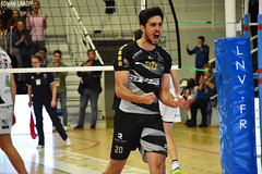 DSC_0280 (Ronan Caroff) Tags: sport sports deporte volley volleyball voleibol men man boy garcon indoor france bretagne breizh brittany illeetvilaine 35 rennes roazhon tours liguea nikon d5600 championnat championship colettebesson team équipe effort