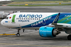 Bamboo Airways - Airbus A321-251N / VN-A590 @ Manila (Miguel Cenon) Tags: bambooairways bambooairwaysa321n bava321 vna590 rpll airplane airplanespotting apegroup appgroup airport aircraft airbus aviation planespotting ppsg philippines plane manila nikon naia narrowbody d3300 wings wing window wheel winglet airbusa320 airbusa321neo a320 a321 a320n twinengine