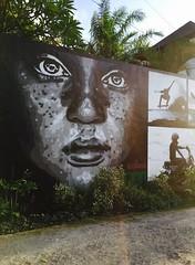 Streetart (sharonna_hazes) Tags: streetart indonesia artist canggu bali