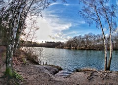 Lake view (ruedigerdr49) Tags: fisheye ultrawide wideangle widescreen landscape nature nationa hiking germany outdoor travel canon m50