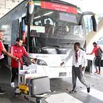 UAE National Team arrives to hamad airport 25-11165