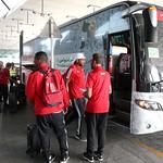 UAE National Team arrives to hamad airport 25-11157