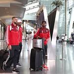 UAE National Team arrives to hamad airport 25-11124
