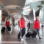 UAE National Team arrives to hamad airport 25-11119