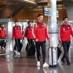 UAE National Team arrives to hamad airport 25-11109