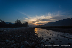 Morning at Rajaji National Park (deepak.abhishek) Tags: landscapes canoneos5dmarkiii canonef1740mmf4lusm ngc landscape wildindia india landscapephotography sunrise river water forest clouds yourshot