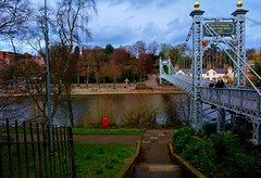 Queens Park Bridge Chester 17Th Feb 2019 Nikon D7100 (mrd1xjr) Tags: queens park bridge chester 17th feb 2019 nikon d7100