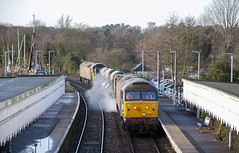 57003 at Woodbridge (tibshelf) Tags: woodbridge class57 drs rhtt 57003