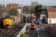 37409 at Woodbridge (tibshelf) Tags: woodbridge class37 drs rhtt 37409