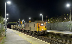 73136 & 73141 3W05 Ore 11/12/2019 (Waddo's World of Railways) Tags: 73136 136 73 731 141 73141 ed jb ore sussex eastsussex orestation station night train rail railway loco locomotive rhtt class73 railheadtreatmenttrain 3w05 gb gbrf gbrailfreight nightphotography nightrailwayphotography dark hastings hastingstoashford hastingstoashfordline ‎mhairi 73136‎mhairi