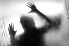 Ghost I (Gruenewiese86) Tags: folie gespenst stock schwarz schwarzweiss ghost