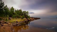 Moshchny Island (中村巌) Tags: sea island abandoned ship shipwreck summer evening cloudy baltic gulf shore stones wide nikon d5300 10mm море остров заброшка корабль балтика 海 島 船