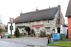 The Rose and Crown Tilshead Wiltshire UK (davidseall) Tags: the rose crown tilshead wiltshire uk pub pubs inn tavern bar public house houses gb british english thatch thatched