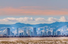December 4, 2019 - The Mile High City in the morning. (Jessica Fey)
