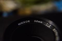 Nikkor Nikon 50mm (justinr183) Tags: camera lens 50mm nikon nikkor dslr argentique macro f2