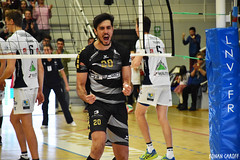 DSC_0279 (Ronan Caroff) Tags: sport sports deporte volley volleyball voleibol men man boy garcon indoor france bretagne breizh brittany illeetvilaine 35 rennes roazhon tours liguea nikon d5600 championnat championship colettebesson team équipe effort