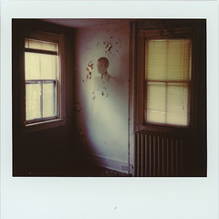 Abandoned House (///Brian Henry) Tags: abandoned polaroid spectra ghost haunted urbex instant film analog male