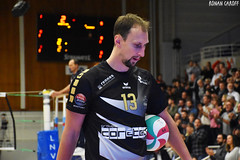 DSC_0270 (Ronan Caroff) Tags: sport sports deporte volley volleyball voleibol men man boy garcon indoor france bretagne breizh brittany illeetvilaine 35 rennes roazhon tours liguea nikon d5600 championnat championship colettebesson team équipe effort
