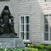 Marie de L'Incarnation statue, Quebec City, Quebec