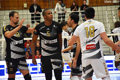 DSC_0256 (Ronan Caroff) Tags: sport sports deporte volley volleyball voleibol men man boy garcon indoor france bretagne breizh brittany illeetvilaine 35 rennes roazhon tours liguea nikon d5600 championnat championship colettebesson team équipe effort