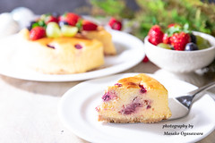 Cheesecake with fresh berries (yumehana) Tags: baked bakedpastryitem beige berry berryfruit blue blueberry cake cheese cheesecake christmas closeup copyspace creamdairyproduct crockery curve dairyproduct decoration dessert food freshness fruit gourmet grapes homemade horizontal mascarponecheese nopeople photography plate raspberry red refreshment rustic servingsize sliceofcake sliceoffood snack strawberry summer sweetfood vanilla whitecolor winter woodmaterial