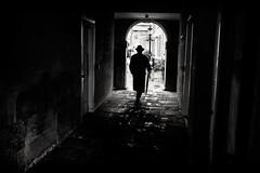 man of mystery (Daz Smith) Tags: dazsmith fujifilmxt3 xt3 fuji bath city streetphotography people candid portrait citylife thecity urban streets uk monochrome blancoynegro blackandwhite mono man silhouette umbrella mystery mysterious