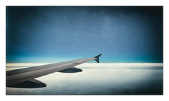 The Wing (Jean-Louis DUMAS) Tags: avion plane aile wing ciel sky nuage cloud abstract abstrait abstraction