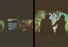 Van Gogh exhibition - couple (funky_sexy_groovy_marky) Tags: olympus pen ees2 bangkok analogue halfframe kodak colorplus
