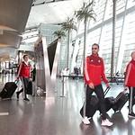 UAE National Team arrives to hamad airport 25-11123