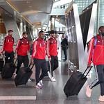 UAE National Team arrives to hamad airport 25-11102